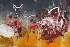 Biche, monotype, 50x65, 2012