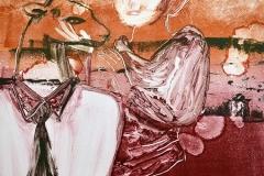 Cerf, monotype, 50x65, 2012