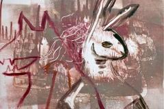 Lapin, monotype, 50x65, 2012