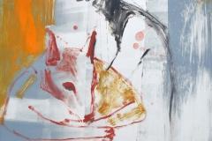 Loup, monotype, 50x65, 2012
